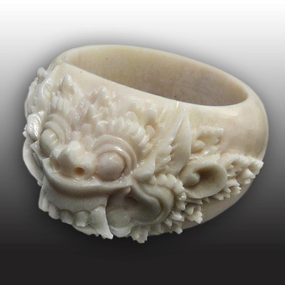 Acrylic Skull Ring