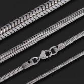 Edelstahl Schlangen Halskette - Ideal für Anhänger