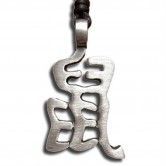 Pewter Pendant - Chinese Zodiac Rat 001