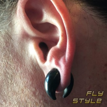 Septum Nose or Ear Claw Crescent Pincher from Buffalo Horn – picture 5