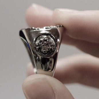 Anillo Acero inoxidable Sello Masónico / Illuminati – picture 6