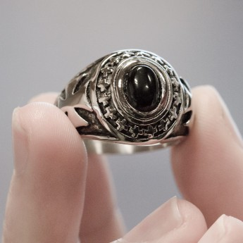 Stainless Steel Ring of Knights Templar – picture 3