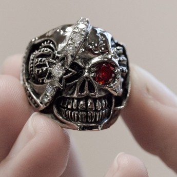 Stainless Steel Skull - Royal Pirate – picture 2