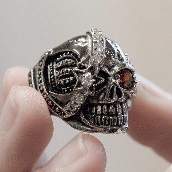 Stainless Steel Skull - Royal Pirate – picture 3