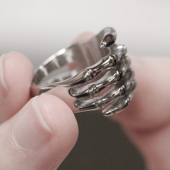 Stainless Steel Ring - Death Hand – picture 4