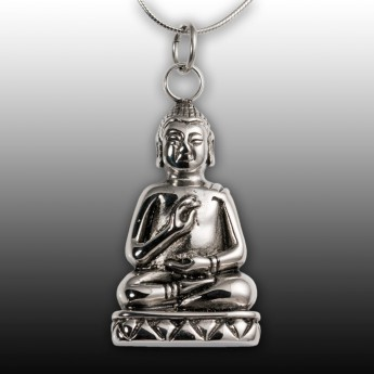 Stainless Steel Pendant - Laughing Buddha – picture 1