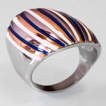 Modern Stainless Steel Design Ring - Muliticolor – picture 5