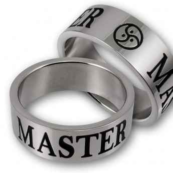 Anillo de Acero Inoxidable - AMOcon BDSM Triskel