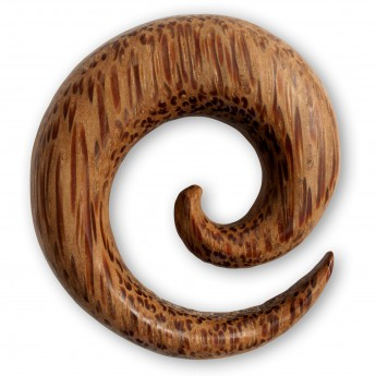 Spiral Stretcher from bright Coconut Palmwood – picture 1