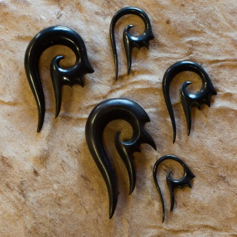 Horn Spiral Stretcher - Spike Tribal – picture 3