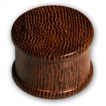 Concave Double Hat Plugs from different Woods – picture 6