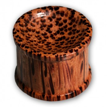 Concave Double Hat Plugs from different Woods – picture 5