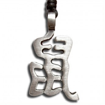 Pewter Pendant - Chinese Zodiac Rat