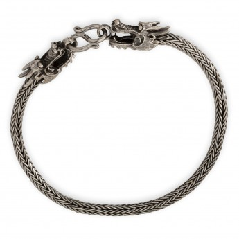 Bracelet from Silver - Dragons – picture 1