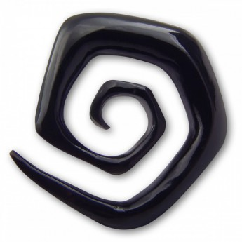 Spiral Stretcher from Horn or Ebony Wood - Squared Spiral – picture 1