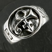 "Silber Ring Siegelring ""Prince Slave Symbol"""