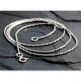 Filigrane Halskette aus 925er Silber Antik Design für Anhänger