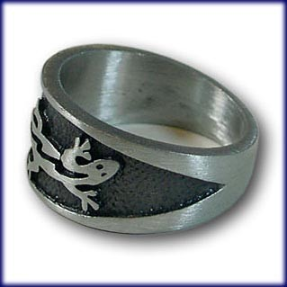"Ring from Pewter ""Lizard"" – picture 2"