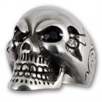 "Pewter Ring ""Death's Head"" – picture 1"