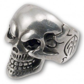 "Pewter Ring ""Death's Head"" – picture 2"