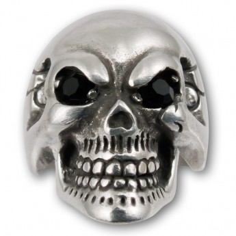 "Pewter Ring ""Death's Head"" – picture 3"