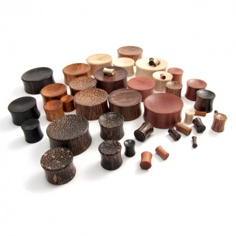 Concave Saddle Plugs from different Woods – picture 4