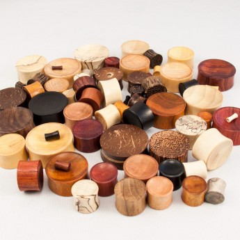 Concave Saddle Plugs from different Woods – picture 3
