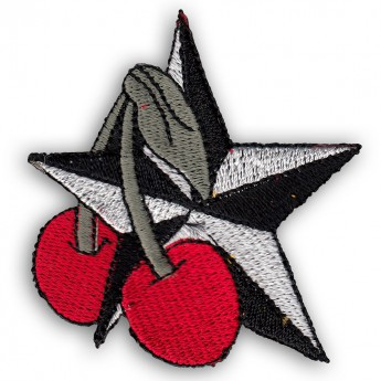 Patch - Cherries with Stars
