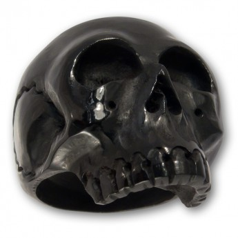 Horn or Bone Ring - Classic Skull – picture 2