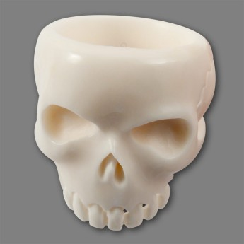 Horn or Bone Ring - Classic Skull – picture 3