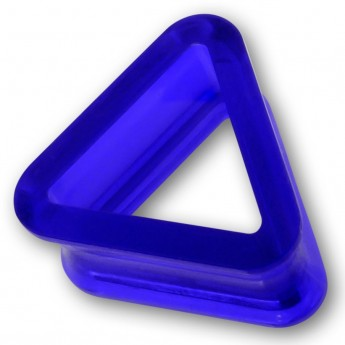 Triangle Acrylic Flesh Tunnel in 9 different colors – picture 3