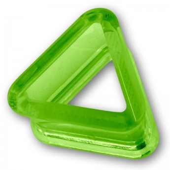 Triangle Acrylic Flesh Tunnel in 9 different colors – picture 9