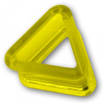 Triangle Acrylic Flesh Tunnel in 9 different colors – picture 8
