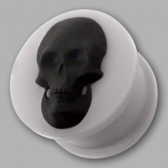 "Silicone Plug ""Skull"" in different Colors – picture 4"