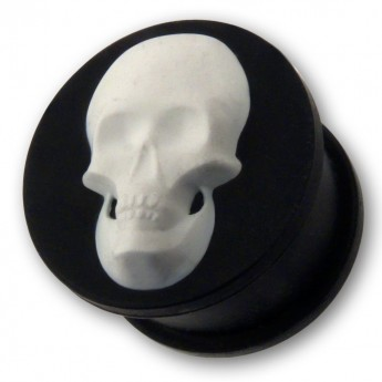 "Silicone Plug ""Skull"" in different Colors – picture 5"