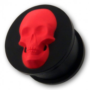 "Silicone Plug ""Skull"" in different Colors – picture 6"