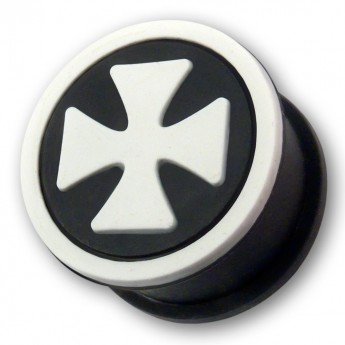 "Silicon Ear Plug ""Iron Cross"" in different Colors – picture 4"