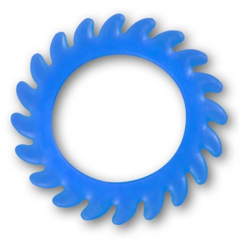 Silicone Flesh Tunnel - Saw Blade - in different colors and sizes – picture 7
