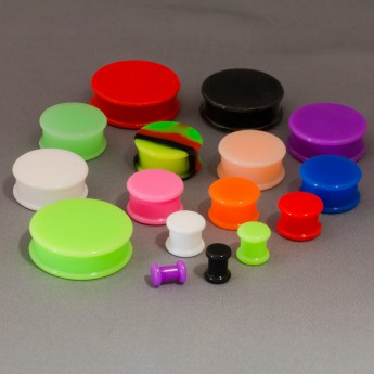Solid Silicone Plug in different colors & sizes – picture 2