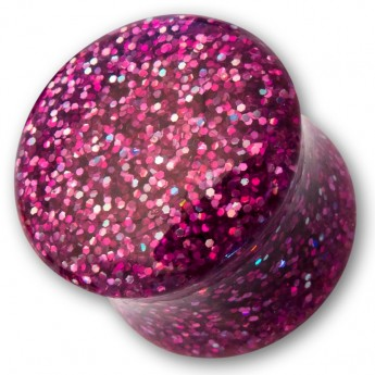 Sparkling Acrylic Glitter Saddle Plug in different colors – picture 5