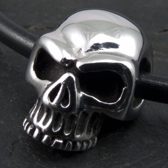 Stainless Steel Pendant - Classic Skull – picture 2