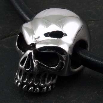 Stainless Steel Pendant - Classic Skull – picture 3