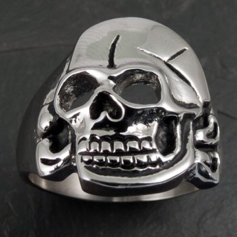 Stainless Steel Ring Hussar Skull – picture 2