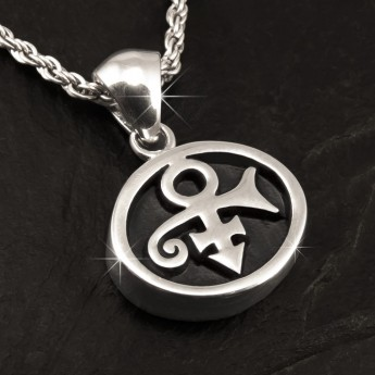 Stainless Steel Pendant - Prince Symbol – picture 1