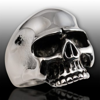 Stainless Steel Ring - Classic Skull – picture 6