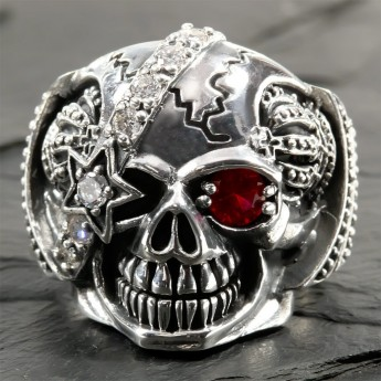 Stainless Steel Skull - Royal Pirate – picture 6