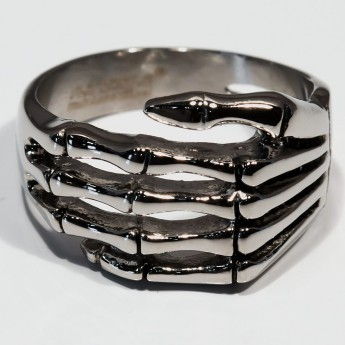 Stainless Steel Ring - Death Hand – picture 6