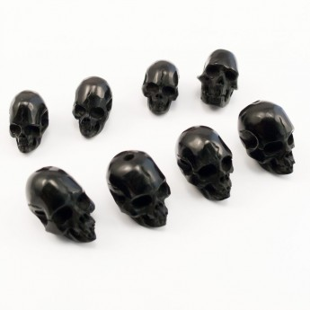 Skull Bead from Horn, Bone or Wood – picture 2