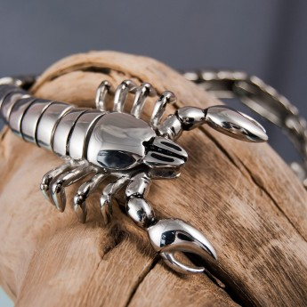 Stainless Steel Bracelet -The Scorpion King – picture 7