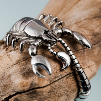 Stainless Steel Bracelet -The Scorpion King – picture 8